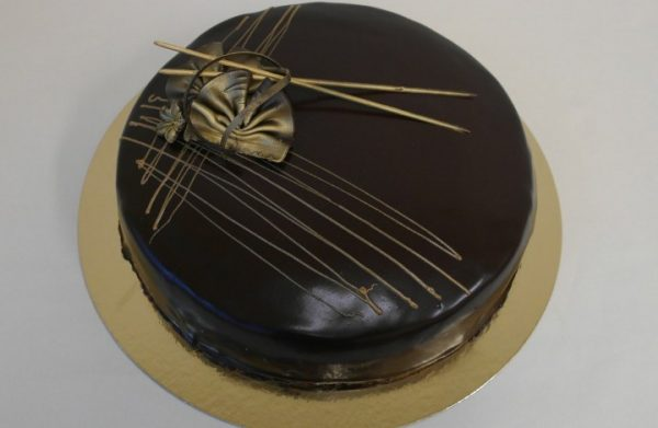 Sjokoladekake mørk 20 personer