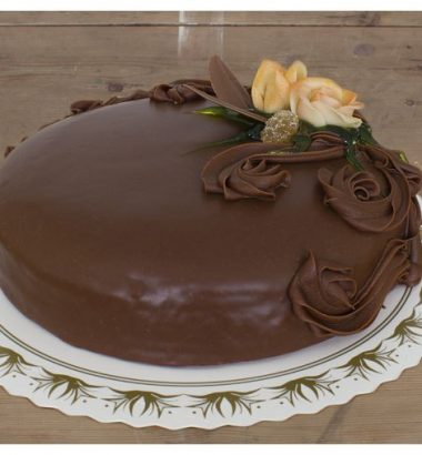 Sjokoladekake-lys 15 personer